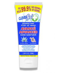 Clever Gel + Hand Sanitizer with Aloe Vera