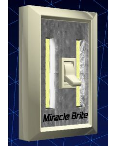Set of 2 Miracle Brite LED Light Switch
