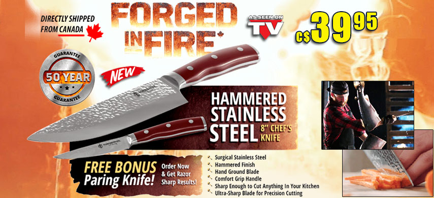 Forged in Fire Chef Knife