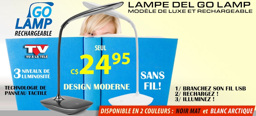 Lampe GoLamp Rechargeable